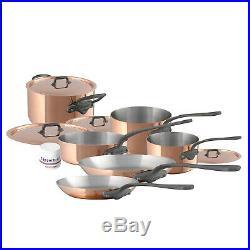 Mauviel M'150C2 10 Piece Cookware Set, Cast Iron Color Handle