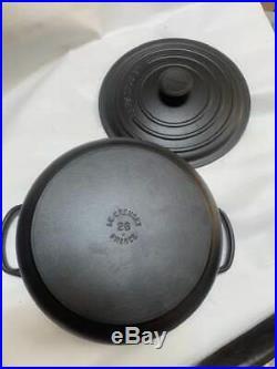 NEW Authentic Le Creuset Signature 5.5 Qt. Round Licorice Black Dutch Oven