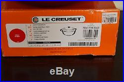 NIB Le Creuset Signature Cast Iron 2.75-qt Round Dutch Oven cherry red shallow