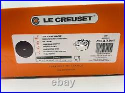 New Le Creuset Signature 5.5-Qt. Round Dutch Oven Fig NIB