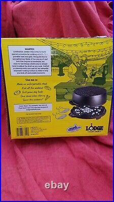 New Lodge Kickoff 12 Iron Charcoal Grill U. S. A. Sportsman
