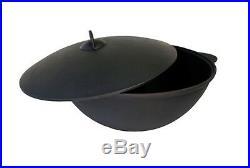 New Uzbek 100% Cast Iron Kazan Qazon 40l 40