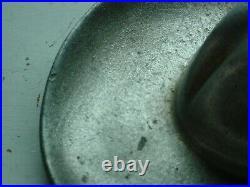 Original cast griswold cowboy hat ash tray #31