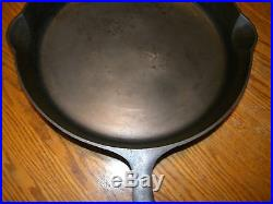 Pn 1085 Huge Griswold Iron Mountain Cast Iron Frying Pan No. 14