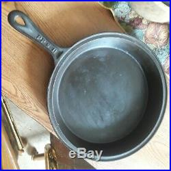 PPS #11 Cast Iron Skillet Bottom Gate Marked Made in NYC RARERESTORED SPINS