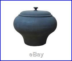 Pan Wok Tempered Cast Iron Durable Camping Saucepan Cooking Pot Cookware Outdoor