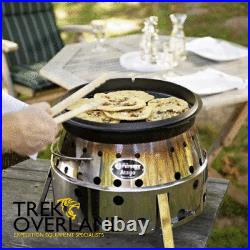 Petromax Dutch Oven / Potje Pot Cast Iron Camping Cooking Pot 8-14 People ft9