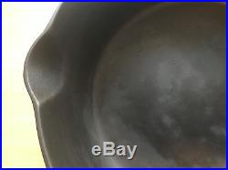 Pre Griswold Erie #8 Deep Skillet With Heat Ring