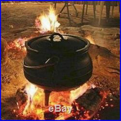 Pure Cast Iron Cauldron/Kettle/Potjie Size 3 or 2 gal