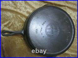 RARE #13 GRISWOLD LARGE BLOCK With SLANTED LOGO #720