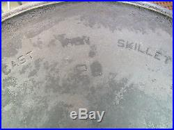 RARE 1930'S GRISWOLD 20 CAST IRON HOTEL SKILLET # 728 COOKWARE