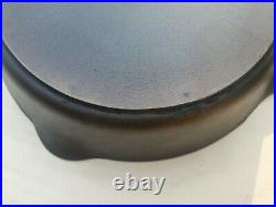 RARE! 1940s Griswold Milled Bottom Electric Stove Cast Iron Skillet No. 10 732