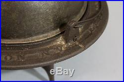 RARE 19thC Antique Cast Iron 1859 Patented Cannonball EMPIRE Coffee Roaster