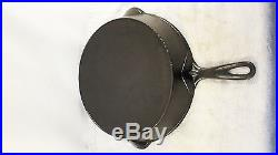 RARE ERIE 10 Cast Iron Skillet With Heat Ring Pre Griswold