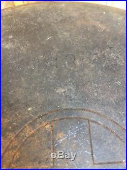 RARE GRISWOLD # 13 ERIE Pot/Lid #2635 #2637