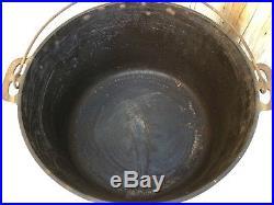 RARE GRISWOLD Slant # 13 ERIE Pot/Lid #2635 #2637
