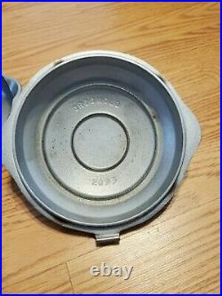 RARE! Hammered Plated Griswold 3, FREE SHIPPING