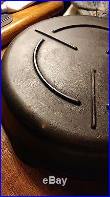 RARE Old Antique Vintage Keen Kutter Tool Cast Iron Cooking Skillet #8 Label NOS