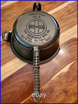 RARE Slant Griswold Waffle Irons 885/886 & High Base (88 0), circa 1908