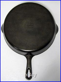 RARE VHTF Griswold #9 Y Cast Iron Grill Pan Ex. Used Cond. RARE VERY NICE