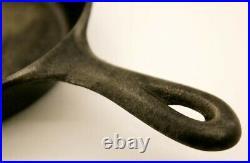 RARE Vintage Griswold ERIE 411 Cast Iron Single Egg Skillet Frying Pan Italics