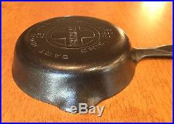 RARE Vintage Griswold No 2 Large Block Logo Cast Iron Skillet PN 703