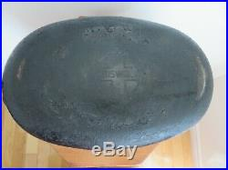 Rare Antique Vtg Cast Iron # 5 GRISWOLD oval roaster