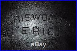Rare Early 1900's Griswold Erie Cast Iron Long Griddle #11