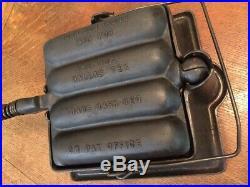 Rare Gene Goff sausage vintage cast iron(wagner krusty korn sausage)griswold