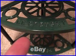 Rare Green Le Creuset 5-Tier Cast Iron Cookware Stand Kitchen Pot Rack Shelf