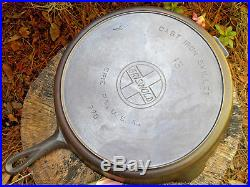Rare Griswold 13 Cast Iron Skillet 720 Vintage Cookware