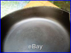 Rare Griswold #2 Cast Iron Skillet with Heat Ring P/N 703 Erie, PA