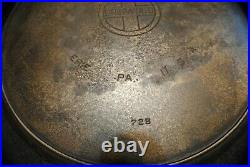 Rare Massive 20 Griswold 728 Erie Cast Iron Skillet Hotel Pan