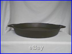 Rare! Vintage #20 Griswold Cast Iron Skillet (Outdoor Camping) 20 inch