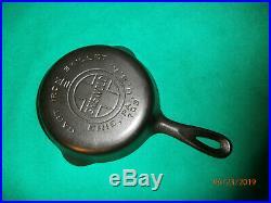 Rare Vintage No. 2 Griswold Erie 703 Large Logo Cast Iron Skillet Read
