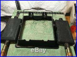Rare Wagner Cast Iron Twin / Double Waffle Iron. Not Griswold