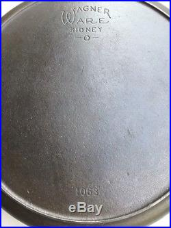 Rare Wagner Ware #13 Cast Iron Skillet Pan NICE