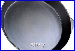 Rare Wagner Ware No 12 Cast Iron Skillet withHeat Ring Restored Condition