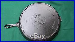 Restored Vintage Griswold No. 14 Cast Iron Skillet, Large Logo