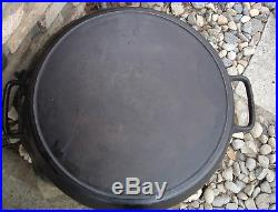 S-k Sk Lodge Large Number 20 Inch Cast Iron Skillet Two Handles