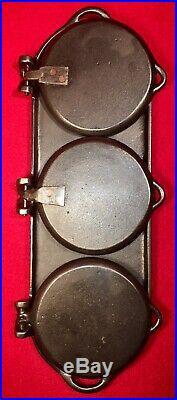 SMFG Chicago 1891 Cast Iron Flop Griddle
