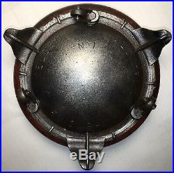 Selden Griswold Cast Iron # 1 Cuspidor Spittoon