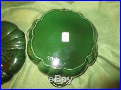 Staub 5 Qt GREEN PUMPKIN COCOTTE Rare Basil Cast Iron Dutch Oven