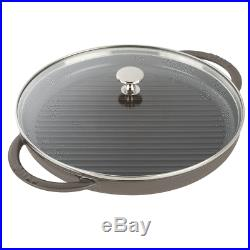 Staub Cast Iron 12 Round Steam Grill Visual Imperfections