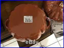 Staub Cast Iron 3.5 Quart Pumpkin Cocotte (better Quality Than Le Creuset)
