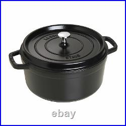 Staub Cast Iron 5.5-qt Round Cocotte Visual Imperfections
