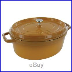 Staub Cast Iron 5.75-qt Oval Cocotte Visual Imperfections