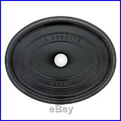 Staub Cast Iron 7-qt Oval Cocotte Visual Imperfections
