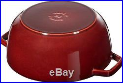 Staub Cookware Cocotte Cock Grenadine 24 CM Roaster Casserole Made of Cast Iron