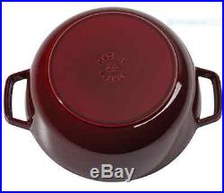Staub Cookware Dutch Oven Cast Iron French Kitchen Thanksgiving Holiday Dinner